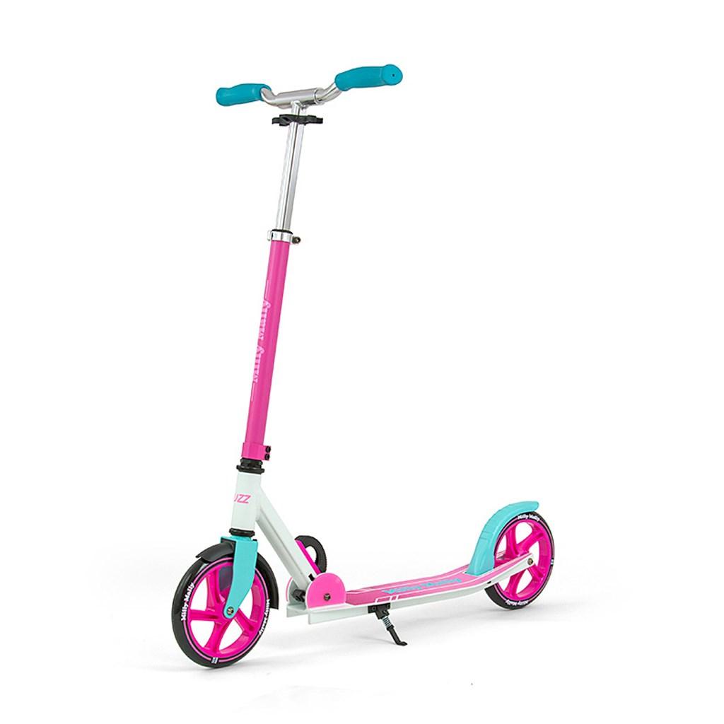 Dětská koloběžka Milly Mally BUZZ Scooter - pink - růžová