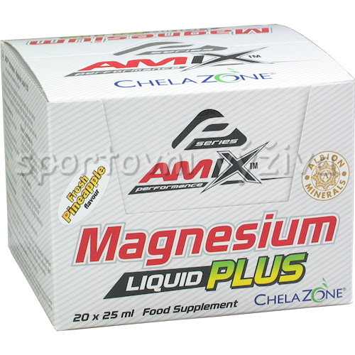 Magnesium Liquid Plus - 20x25ml-lemon