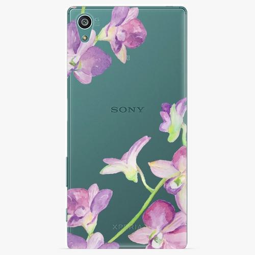 Plastový kryt iSaprio - Purple Orchid - Sony Xperia Z5