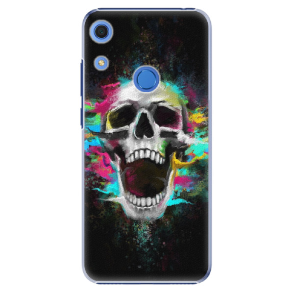 Plastové pouzdro iSaprio - Skull in Colors - Huawei Y6s