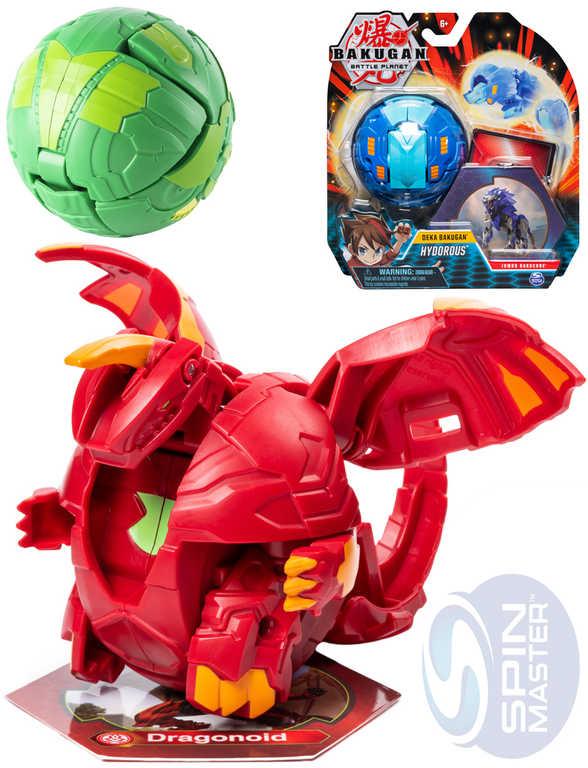 SPIN MASTER Bakugan velký Deka bojovník herní set s doplňky různé druhy plast