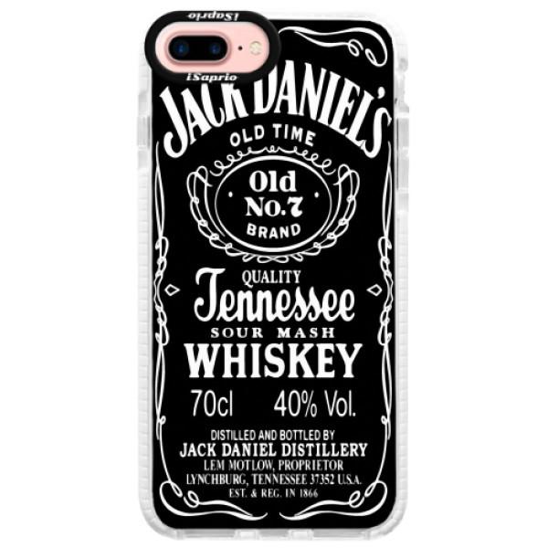 Silikonové pouzdro Bumper iSaprio - Jack Daniels - iPhone 7 Plus