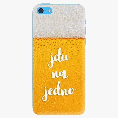 Plastový kryt iSaprio - Jdu na jedno - iPhone 5C