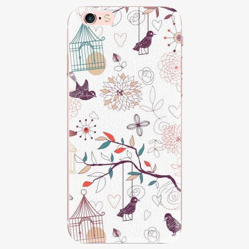 Silikonové pouzdro iSaprio - Birds - iPhone 7