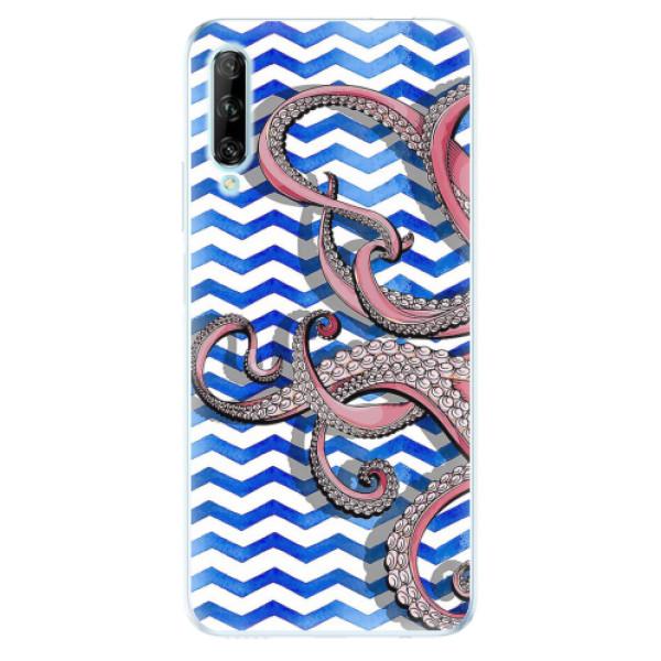 Odolné silikonové pouzdro iSaprio - Octopus - Huawei P Smart Pro