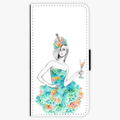 Flipové pouzdro iSaprio - Queen of Parties - Huawei Honor 9 Lite