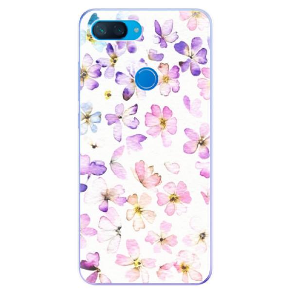 Odolné silikonové pouzdro iSaprio - Wildflowers - Xiaomi Mi 8 Lite