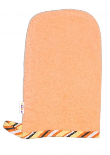 Žínka froté - oranžová
