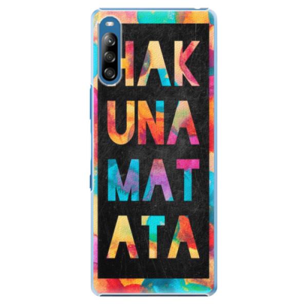 Plastové pouzdro iSaprio - Hakuna Matata 01 - Sony Xperia L4