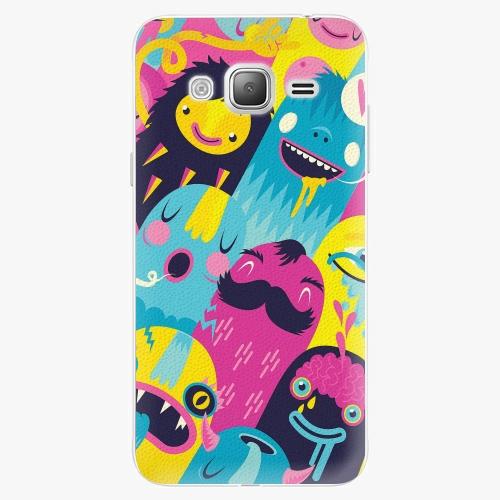 Plastový kryt iSaprio - Monsters - Samsung Galaxy J3 2016