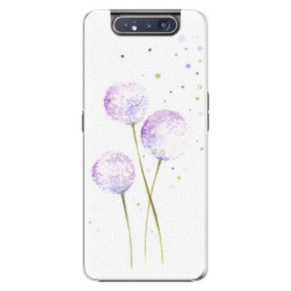 Plastové pouzdro iSaprio - Dandelion - Samsung Galaxy A80