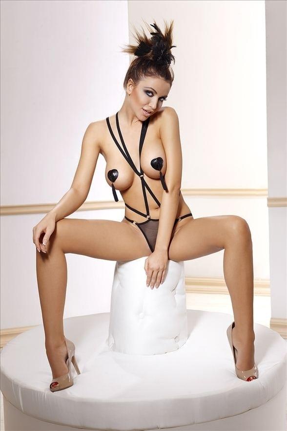 Body Anais Inez - Černá - S