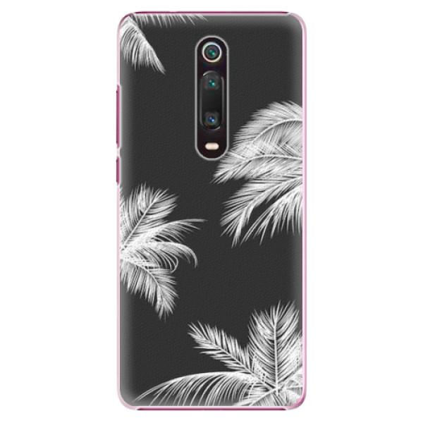 Plastové pouzdro iSaprio - White Palm - Xiaomi Mi 9T