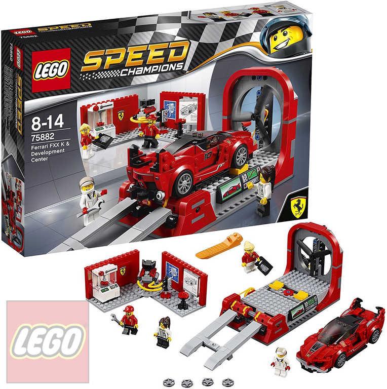 LEGO SPEED Champions Ferrari FXX K a vývojové centrum 75882 STAVEBNICE