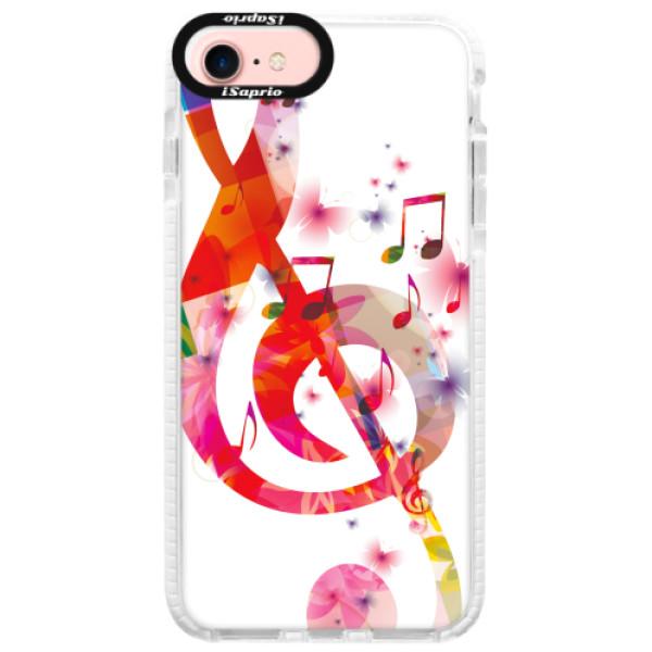 Silikonové pouzdro Bumper iSaprio - Love Music - iPhone 7