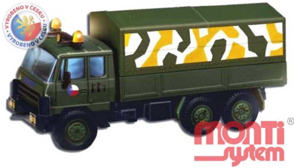 MONTI SYSTÉM 11 Auto Tatra CZECH ARMY stavebnice MS11 0104-11