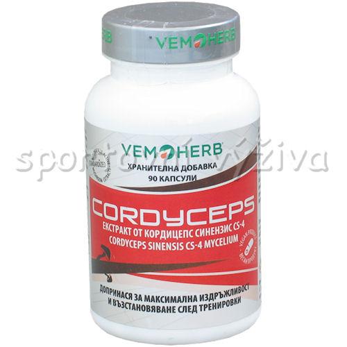VemoHerb Cordyceps 90 kapslí