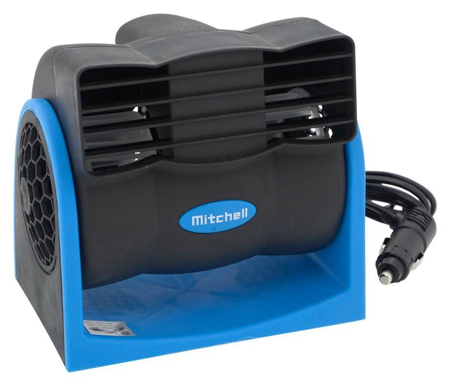 Ventilátor MITCHELL na palubní desku - 12V
