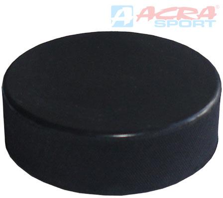 ACRA Hokejový puk malý 6 cm bez potisku