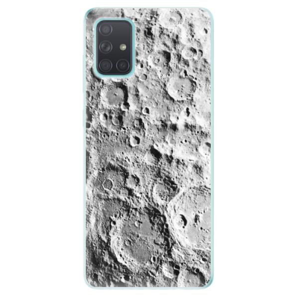 Odolné silikonové pouzdro iSaprio - Moon Surface - Samsung Galaxy A71