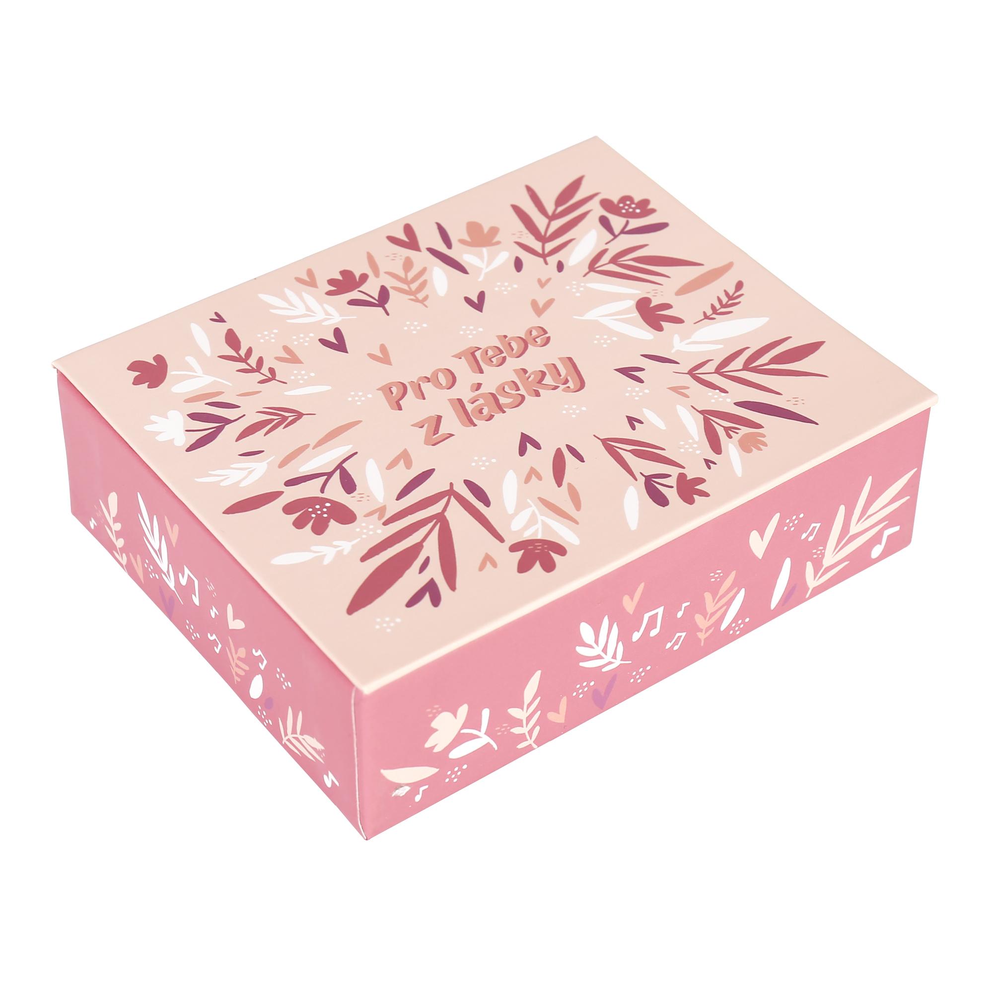 Hrací krabička - Květy