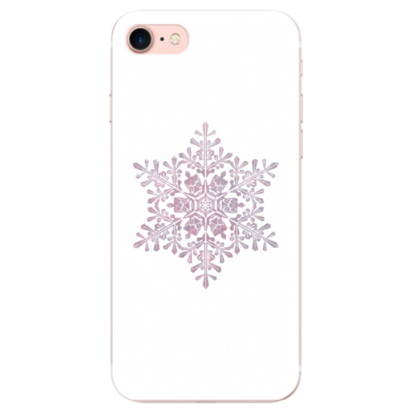 Odolné silikonové pouzdro iSaprio - Snow Flake - iPhone 7
