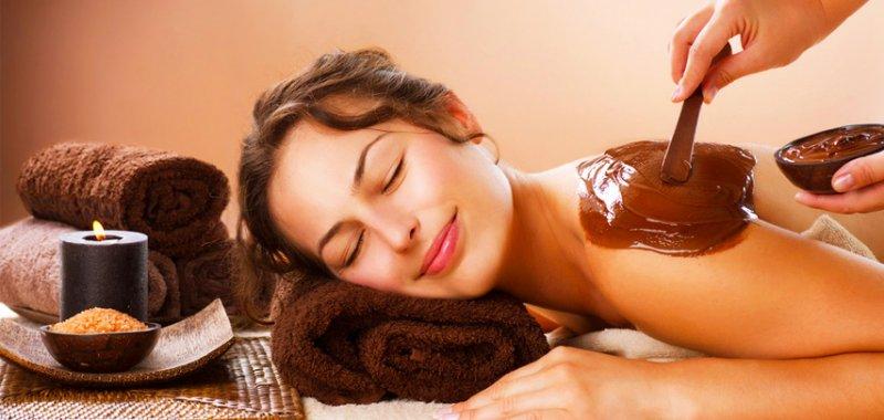 Čokoládová barva na tělo