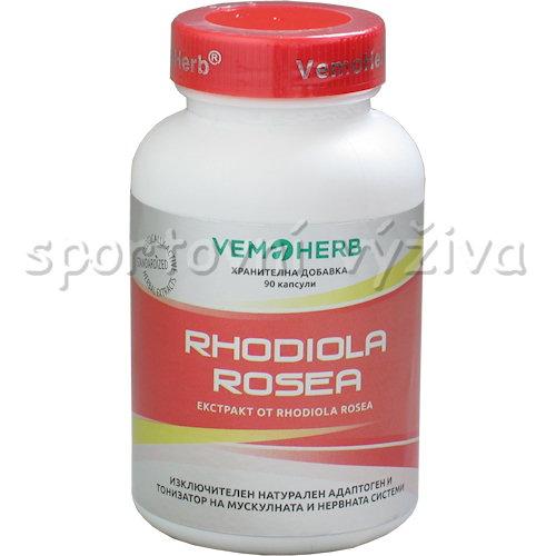 VemoHerb Rhodiola Rosea 90 kapslí