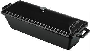 Litinová terina - černá