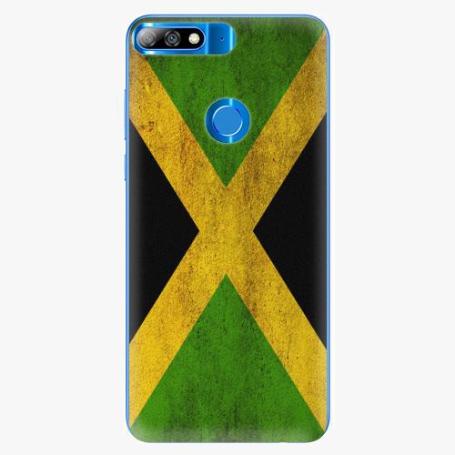 Silikonové pouzdro iSaprio - Flag of Jamaica - Huawei Y7 Prime 2018