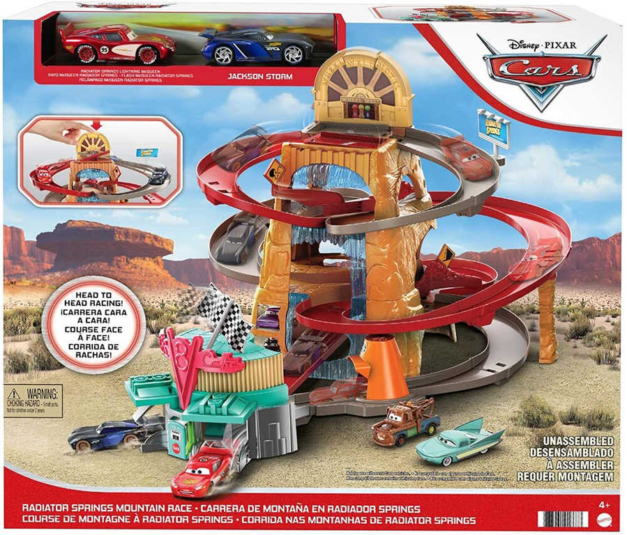 Cars závodní dráha  DMC