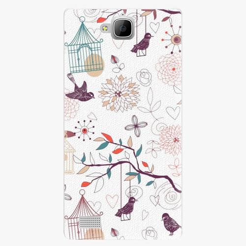 Plastový kryt iSaprio - Birds - Huawei Honor 3C