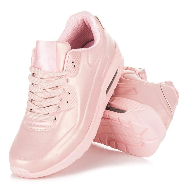 Dámské sportovní tenisky AB-60P - Best boty - Růžová/37