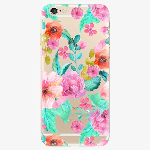 Silikonové pouzdro iSaprio - Flower Pattern 01 - iPhone 6/6S