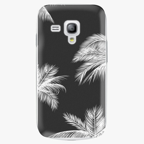 Plastový kryt iSaprio - White Palm - Samsung Galaxy S3 Mini