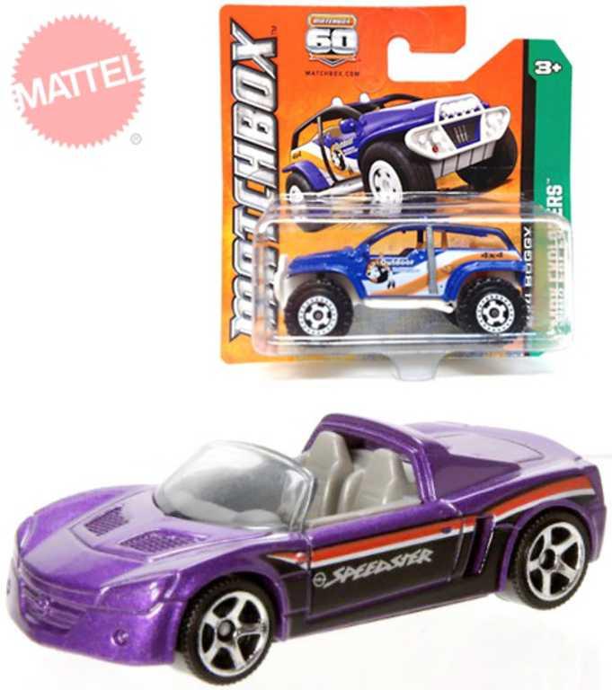 MATTEL Matchbox Auto kovové angličák různé druhy na kartě