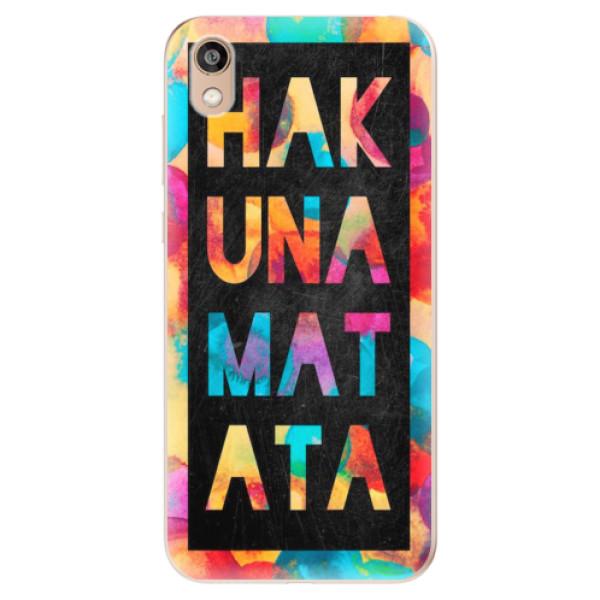 Odolné silikonové pouzdro iSaprio - Hakuna Matata 01 - Huawei Honor 8S
