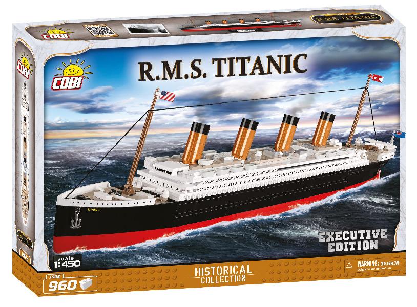 Stavebnice Titanic 1:450 executive edition, 960 k