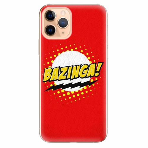 Silikonové pouzdro iSaprio - Bazinga 01 - iPhone 11 Pro