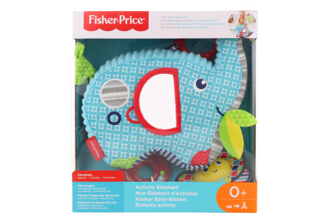 Fisher Price Sloník s aktivitami FDC58