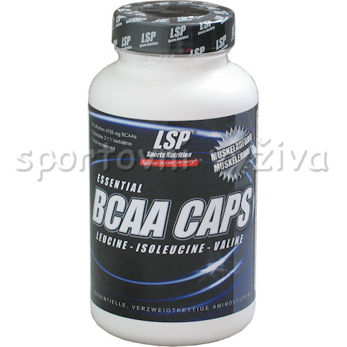 BCAA volucaps 951mg 100 kapslí