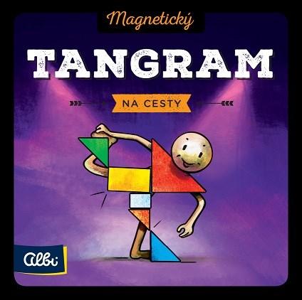 Magnetické mini hry - Magnetický Tangram