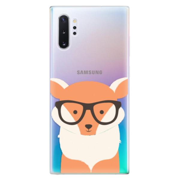 Odolné silikonové pouzdro iSaprio - Orange Fox - Samsung Galaxy Note 10+