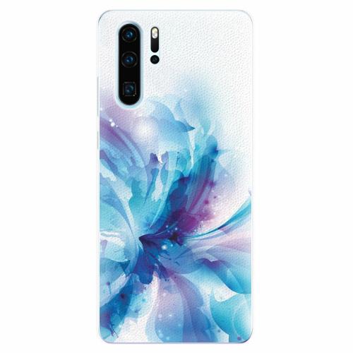 Silikonové pouzdro iSaprio - Abstract Flower - Huawei P30 Pro