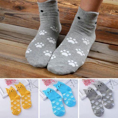 Kočičí ponožky - modré