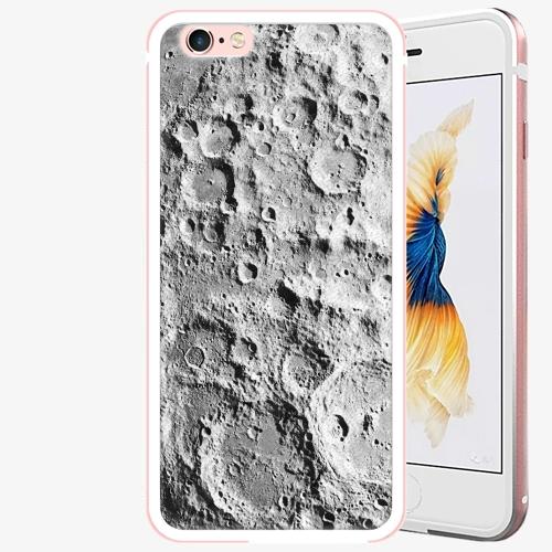 Plastový kryt iSaprio - Moon Surface - iPhone 6 Plus/6S Plus - Rose Gold