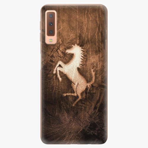 Plastový kryt iSaprio - Vintage Horse - Samsung Galaxy A7 (2018)