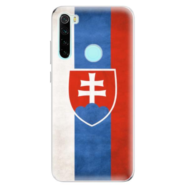 Odolné silikonové pouzdro iSaprio - Slovakia Flag - Xiaomi Redmi Note 8
