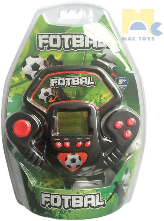 MAC TOYS Hra LCD fotbal