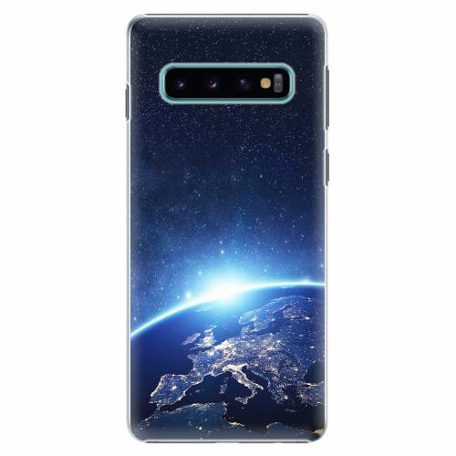 Plastový kryt iSaprio - Earth at Night - Samsung Galaxy S10